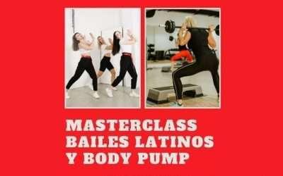 Masterclass de bailes latinos y body pump