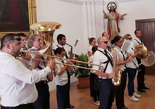 Actuación Banda de Música Municipal La Puebla de Alfindén