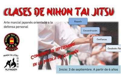 Comienzo de las clases de Nihon Tai Jitsu el 3 de septiembre