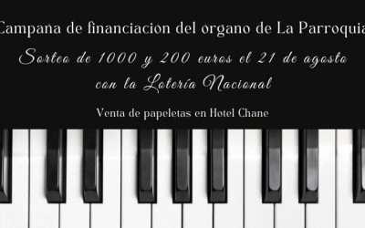 Colabora en la instalación del nuevo órgano de la Parroquia y gana hasta 1.000 euros