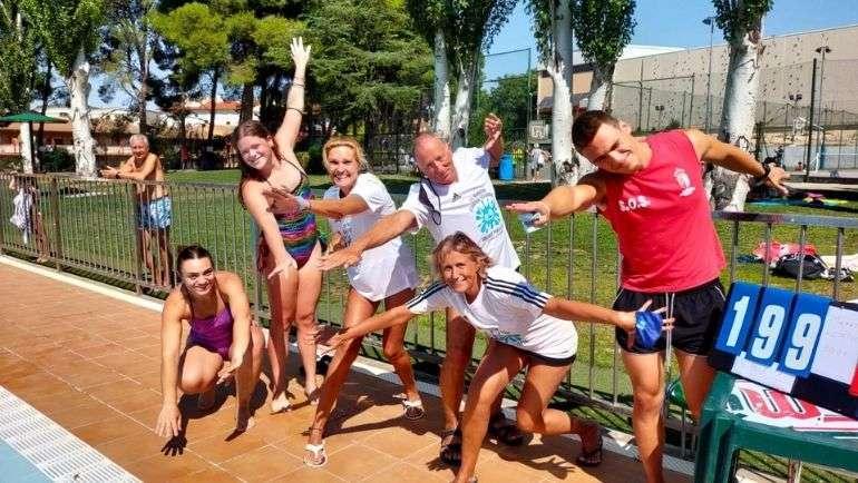 El Maratón Acuático Solidario en favor de personas con esclerosis vuelve con fuerza