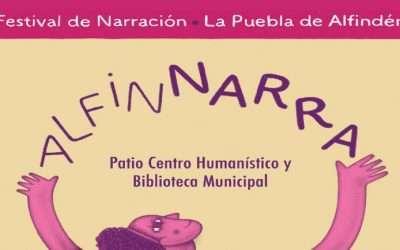 Nueva edición de AlfinNarra del 16 al 19 de septiembre