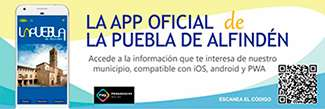 Aplicación móvil de La Puebla de Alfindén