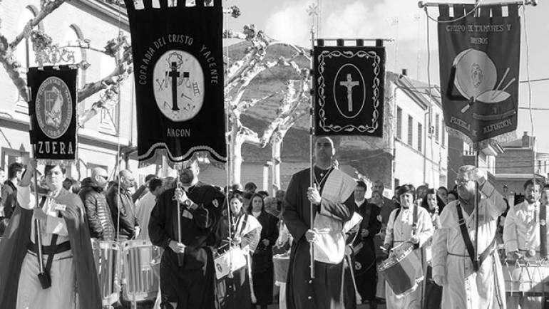 Concurso de tambores y bombos en La Puebla de Alfindén