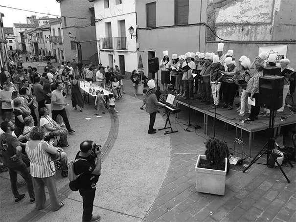 Fiesta de la música. La Puebla de Alfindén