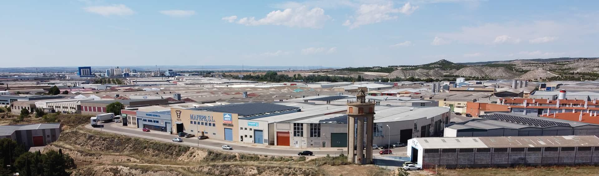 Polígono industrial La Puebla de Alfindén
